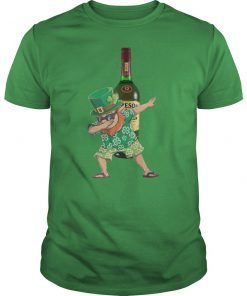 Dabbing leprechaun jameson irish whiskey st patrick's day guy shirt