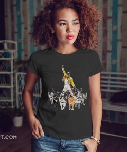 Freddie mercury and cats shirt