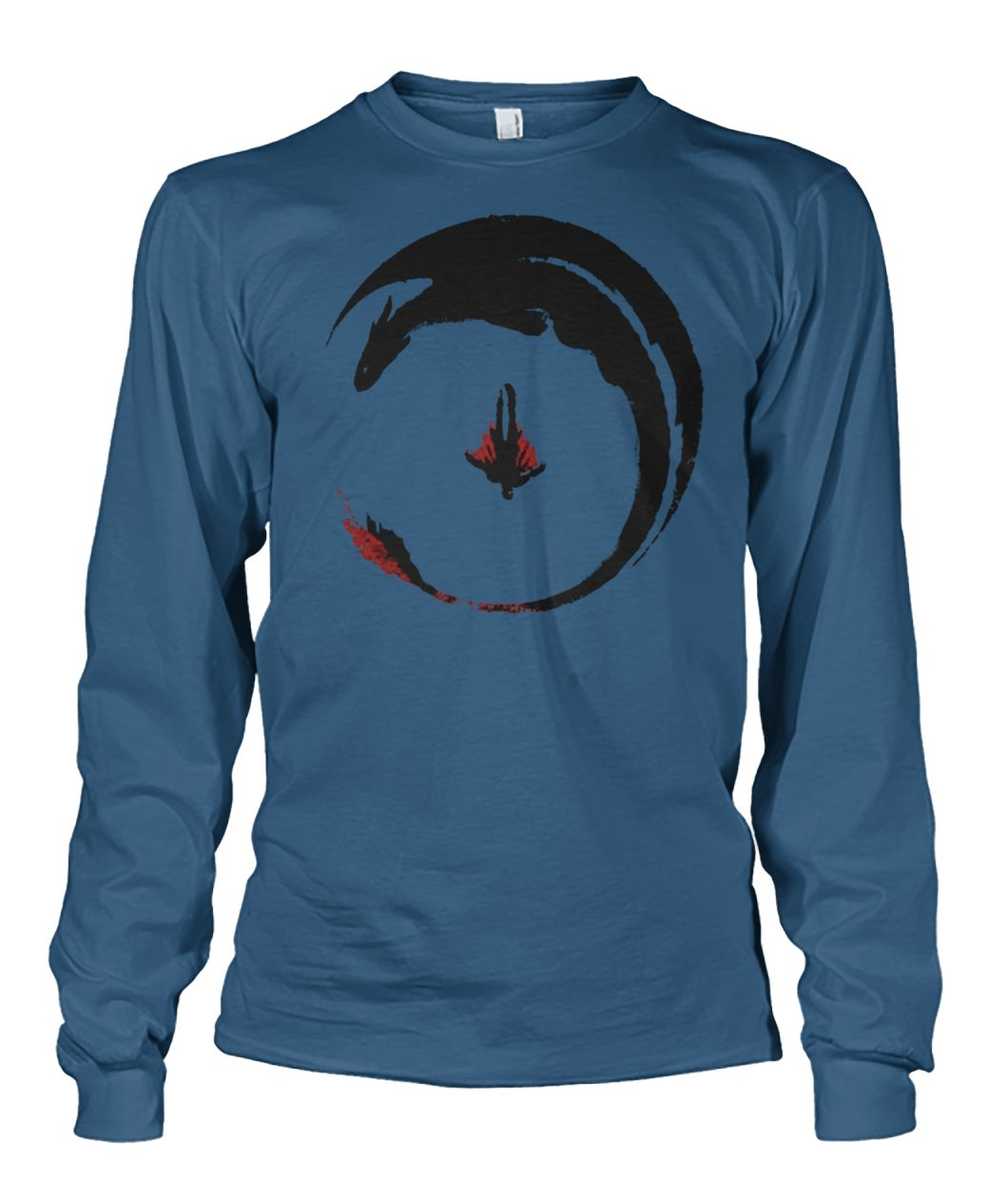 How to train your dragon 3 circling dragon unisex long sleeve