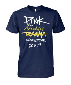 Pink beautiful trauma world tour 2019 unisex cotton tee