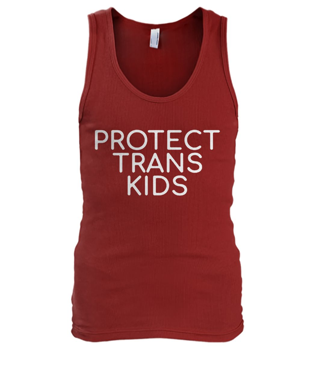 Protect trans kids men's tank top