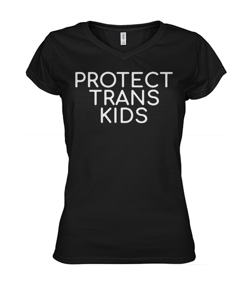 Protect trans kids women's v-neck