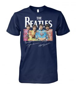 The beatles signature unisex cotton tee