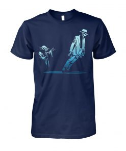 Yoda dance with michael jackson unisex cotton tee