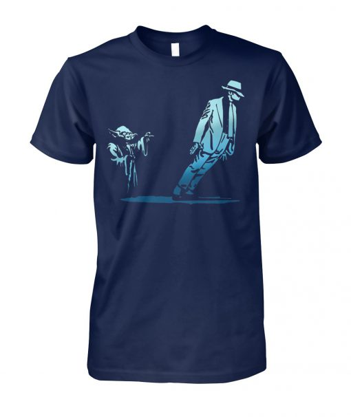 Yoda dance with michael jackson unisex cotton tee