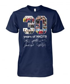 30 years of NKOTB signature unisex cotton tee