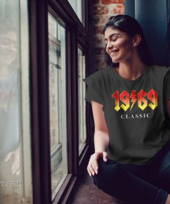 50th birthday gift 1969 classic rock legend shirt