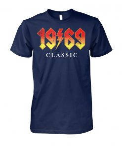50th birthday gift 1969 classic rock legend unisex cotton tee