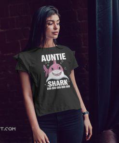 Auntie shark doo doo doo doo doo shirt