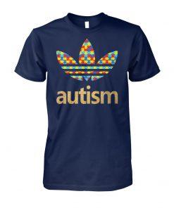 Autism adidas logo autism awareness unisex cotton tee
