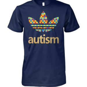 Autism adidas logo autism awareness unisex cotton tee