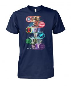Avengers last mission one last sacrifice one last stand one east fight unisex cotton tee