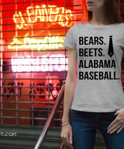 Bears beets alabama baseball shirt