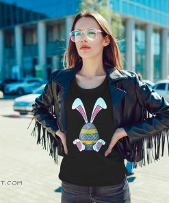 Bunny easter cute happy rabbit egg easter shirt