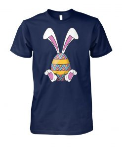 Bunny easter cute happy rabbit egg easter unisex cotton tee