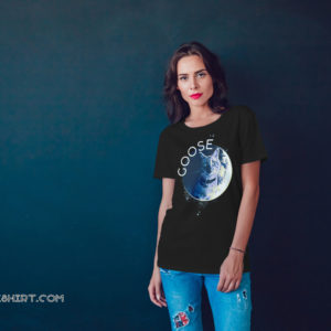 Captain marvel flerken goose the cat in the moon shirt
