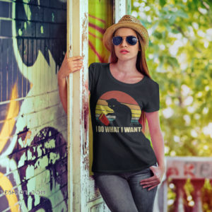 Captain marvel goose cat I do what I want vintage shirt