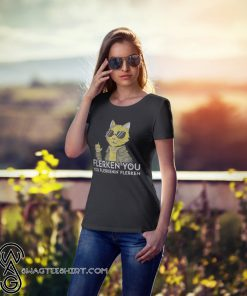 Captain marvel goose cat flerken you you flerkenin flerken shirt