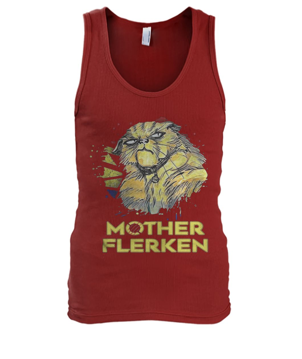 Captain marvel goose cat mother flerken men's tank top