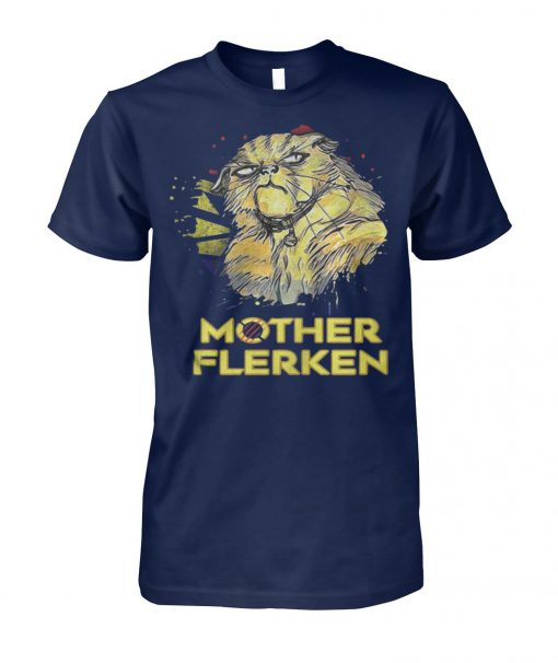 Captain marvel goose cat mother flerken unisex cotton tee