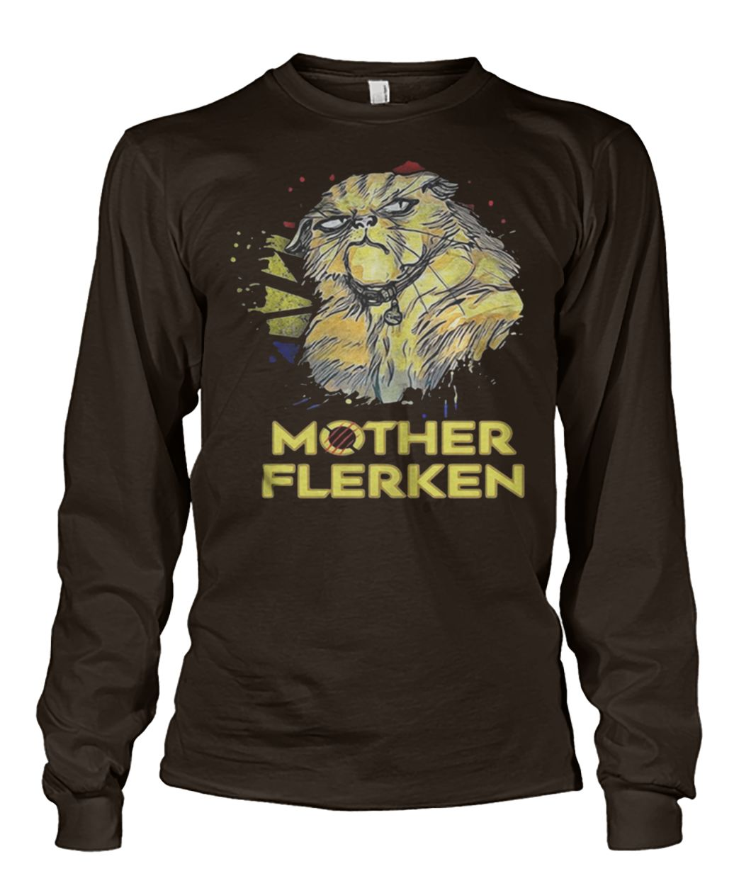 Captain marvel goose cat mother flerken unisex long sleeve