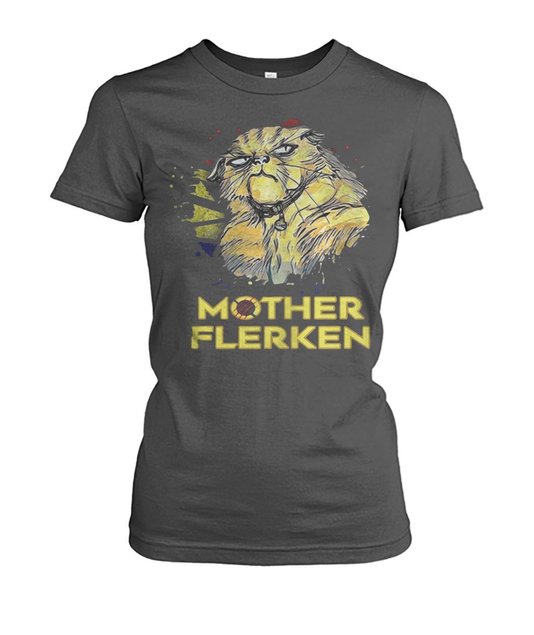 Captain marvel goose cat mother flerken women's crew tee