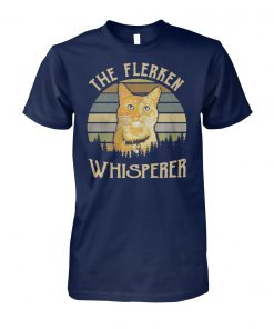 Captain marvel goose cat the flerken whisperer vintage unisex cotton tee