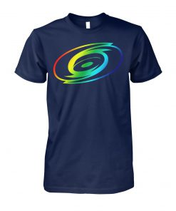 Carolina hurricanes rainbow pride LGBT unisex cotton tee