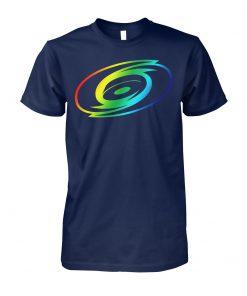 Carolina hurricanes rainbow pride LGBT unisex cotton tee