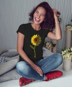 Comma sunflower be here tomorrow shirt