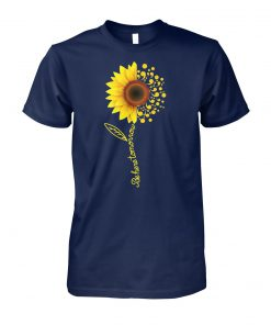 Comma sunflower be here tomorrow unisex cotton tee