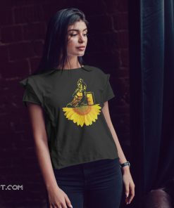 Cowboy sunflower shirt