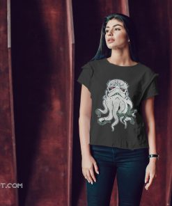 Cthulhu and star wars stormtrooper mashup shirt