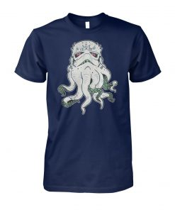 Cthulhu and star wars stormtrooper mashup unisex cotton tee