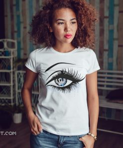 Diabetes and cancer awareness in the eye shirt