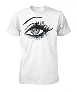 Diabetes and cancer awareness in the eye unisex cotton tee
