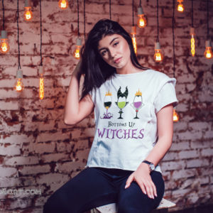 Disney villans bottoms up witches shirt