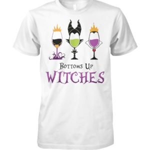 Disney villans bottoms up witches unisex cotton tee