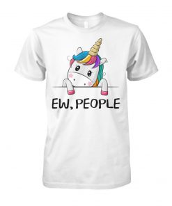 Ew people unicorn unisex cotton tee
