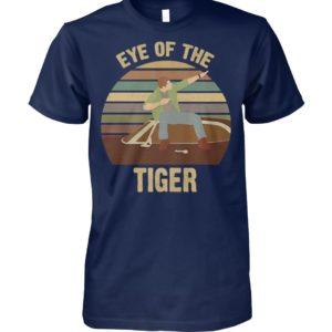 Eye of the tiger vintage mens v-neck
