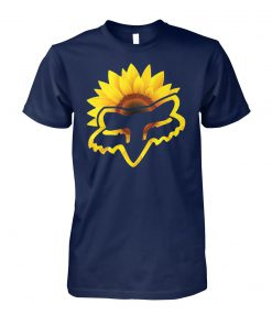 Fox racing sunflower unisex cotton tee