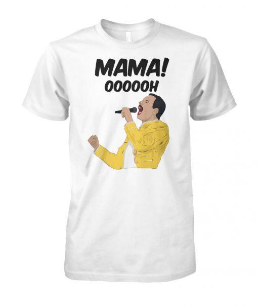 Freddie mercury mama oooooh unisex cotton tee