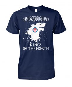 Game of thrones house stark chicago cubs kings of the north unisex cotton tee