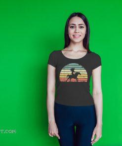 Girl horse riding vintage shirt