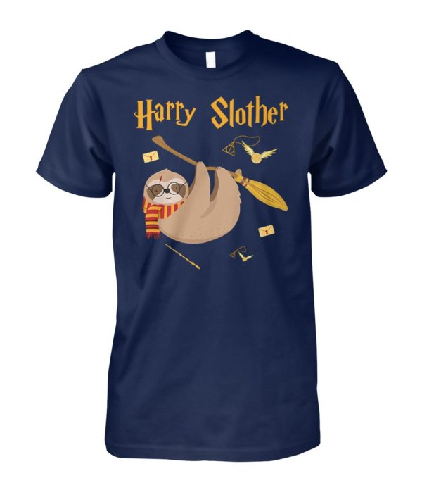 Harry potter sloth harry slother unisex cotton tee