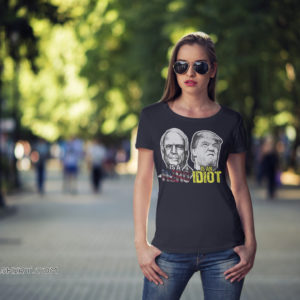 John mccain is a hero trump is an idiot shirt