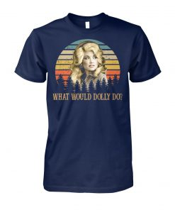 Kristin chenoweth what would dolly do unisex cotton tee
