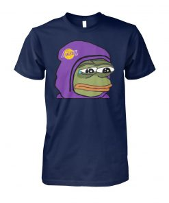 Los angeles lakers sad pepe unisex cotton tee