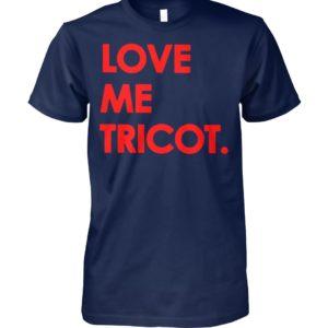 Love me tricot unisex cotton tee