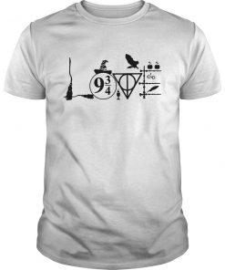 Magic wizard love harry potter guy shirt